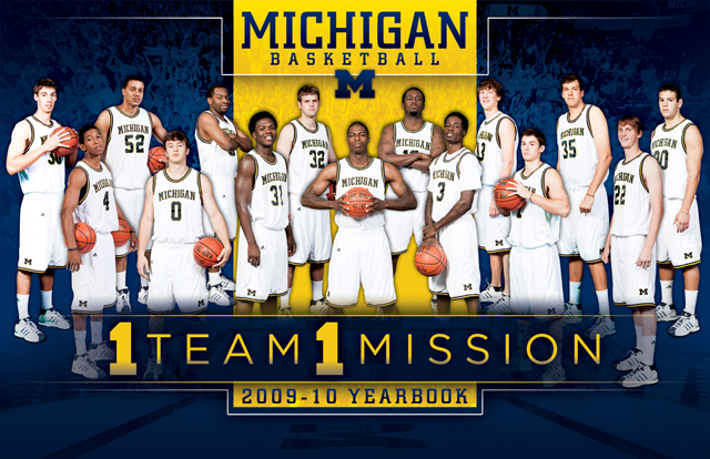 2009-10 Michigan Basketball Team