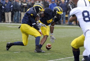 *Turnovers have plagued Michigan in three losses this season, photo by Lon Horwedel | AnnArbor.com