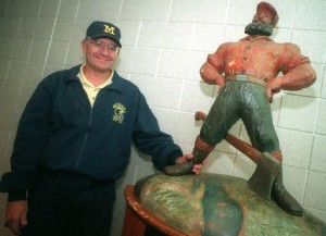 *The Paul Bunyan Trophy is what we're playing for, photo taken from mlive.com