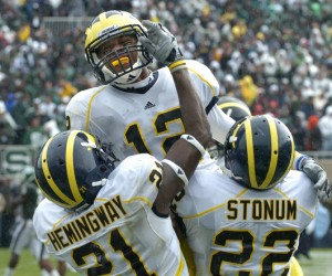 *With Hemingway, Stonum and Roundtree, Michigan has three solid receivers for the next couple of years, photo by Lon Horwedel | AnnArbor.com
