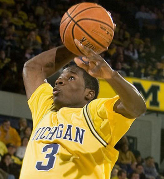 *Junior guard Manny Harris hopes to lead Michigan to a Big Ten title