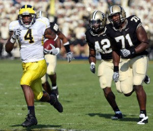 *Brandon Minor rushed for 156 yards and 3 touchdowns vs. Purdue last season