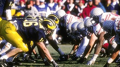 *Michigan and Ohio State square off on Saturday for the 106th time, photo taken from tiltyourhead.com