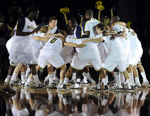 *Michigan has struggled to a 4-3 start, photo by the Ann Arbor News