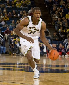 *DeShawn Sims has averaged 22.5 points in the last four games, photo by Mgoblue.com