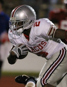 Running Back Stephen Hopkins
