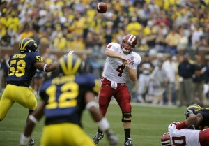 Indiana QB Ben Chappell looks to lead one of the conference's top offenses