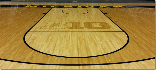 Michigan Basketball Court Images & Pictures - Becuo