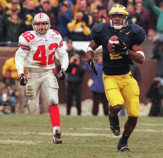 Image result for charles woodson michigan punt return gif