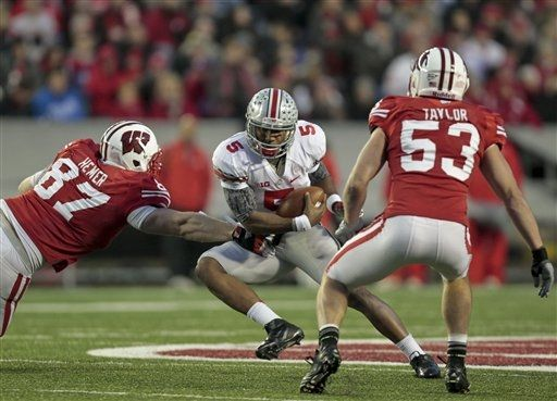Wisconsin bottled up the OSU offense 32afebe45