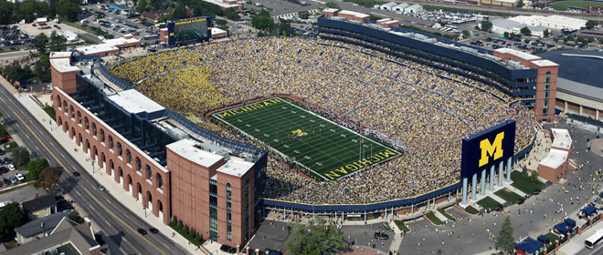maizeandgoblue » The Big House