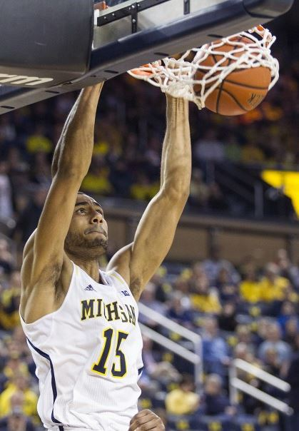 Horford and Morgan combined for 12 points, 15 rebounds and five blocks against Wisconsin (