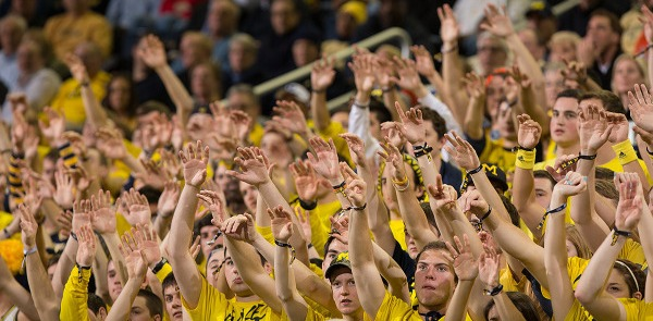 Maize Rage vs Iowa