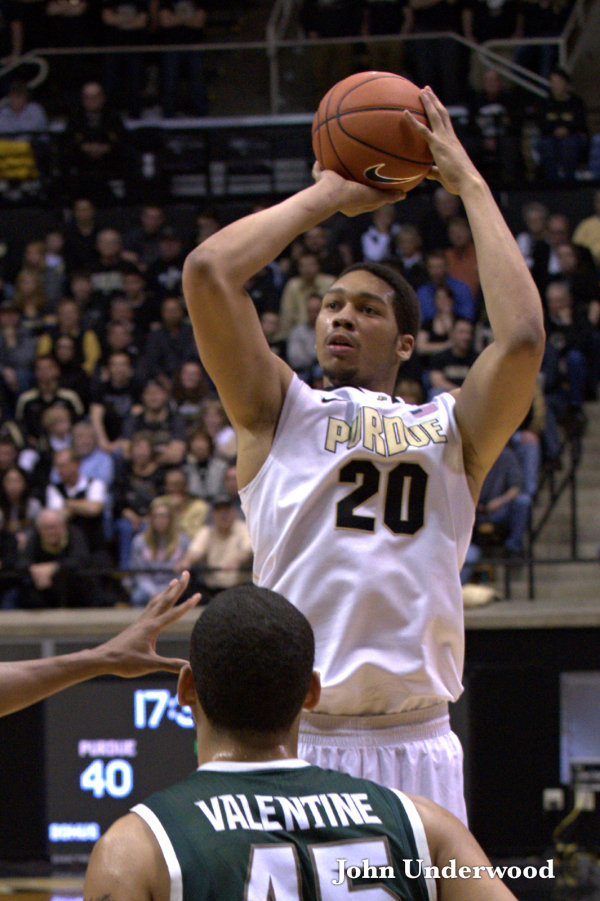 A.J. Hammons scored 16 against Michigan in the first meeting (John Underwood)