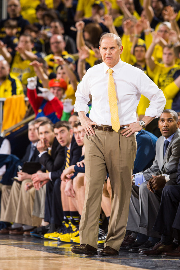 John Beilein can't be happy with Michigan's performance but chalked it up to Wisconsin playing better (MGoBlue.com)