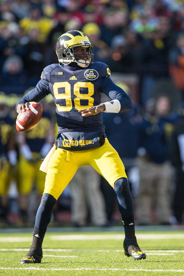 How much will Gardner be able to do this spring with a new offensive system to learn? (MGoBlue.com)
