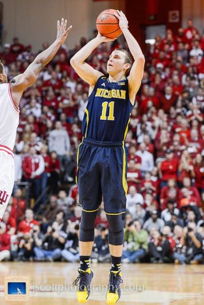 Nik Stauskas was shut down offensively, scoring just six points on six shots (Jamie Owens)