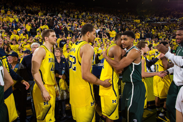 Michigan has won six of the last eight against the Spartans (MGoBlue.com)