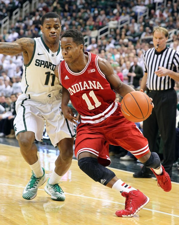 Derrick Walton Jr will have his hands full with the one-man show that is Yogi Ferrell (Mike Carter, USA Today Sports)