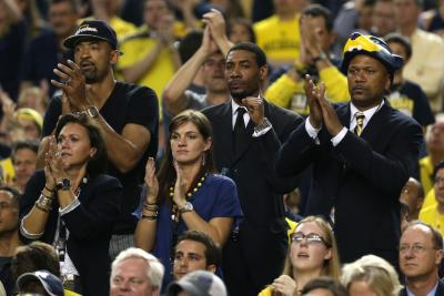 Jalen was proud to support his Wolverines at last year's Final Four and they'll continue to have his backing