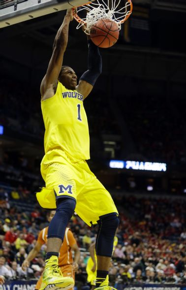 Glenn Robinson III hit big shots at key times to preserve the win (Morry Gash, AP)