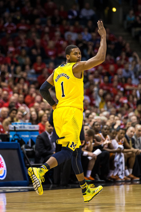 GRIII has averaged 14 points and six rebounds in the two NCAA Tournament games so far (MGoBlue.com)
