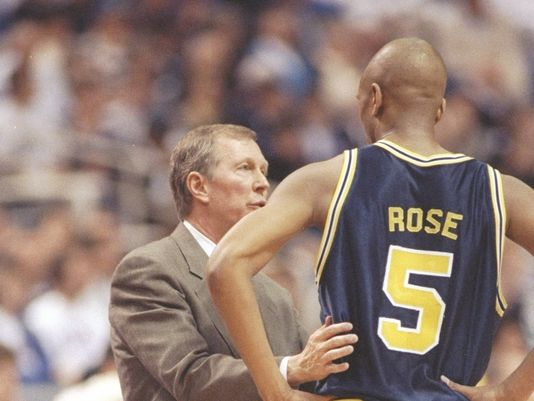 As much as Jalen loves John Beilein, he's rightfully protective of Steve Fisher's legacy (USA Today archive photo)