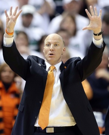 John Groce has his Illini on a three-game winning streak, holding opponents to just 48 points per game during that span (Mike Carter, USA Today Sports)