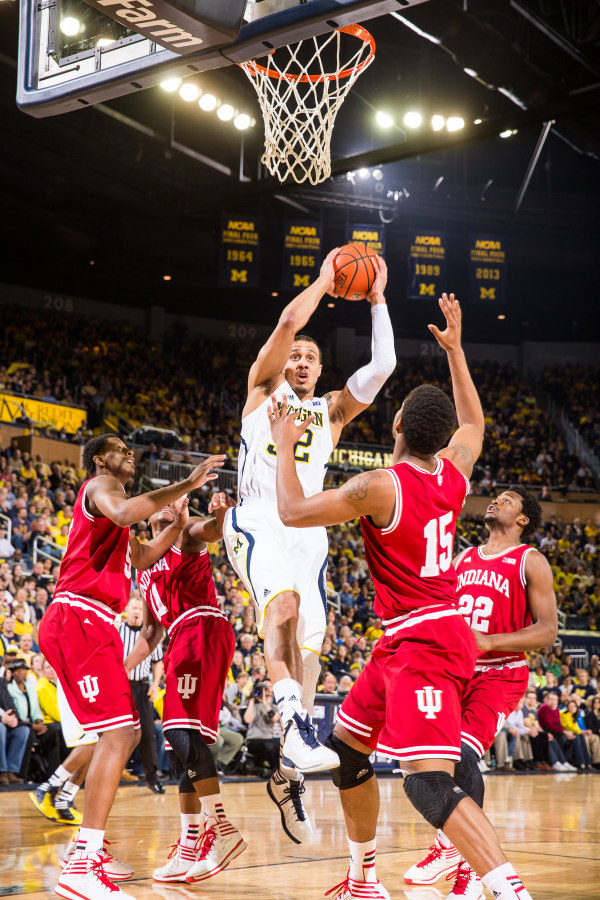 Michigan could be looking at a rematch with Indiana in its first Big Ten Tournament on Friday (MGoBlue.com)