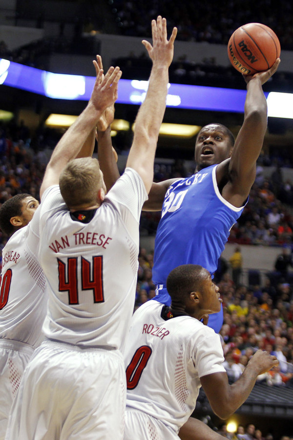 Julius Randle will be the third straight dominant big man Jordan Morgan has faced in the tournament (Chet White, UK Athletics)