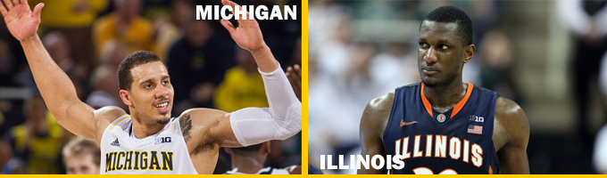 Michigan-Illinois header