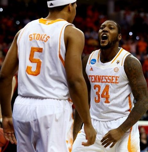 Jarnell Stokes and Jeronne Maymon both rank in the top 30 nationally in offensive rebounding (Streeter Lecka, Getty Images)