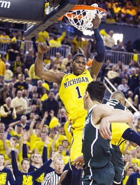 GRIII dunk vs MSU