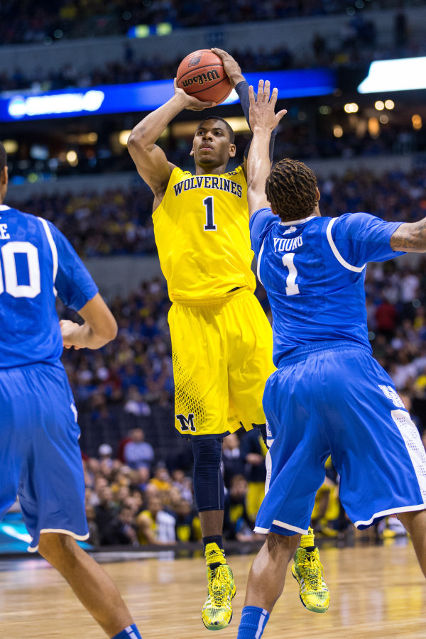 Glenn Robinson III elevated his play late in the season, which could signal his departure (MGoBlue.com)