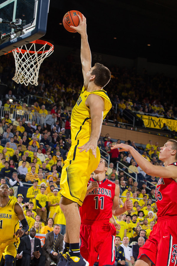 McGary hopes to be a first round selection in the NBA Draft this June (MGoBlue.com)