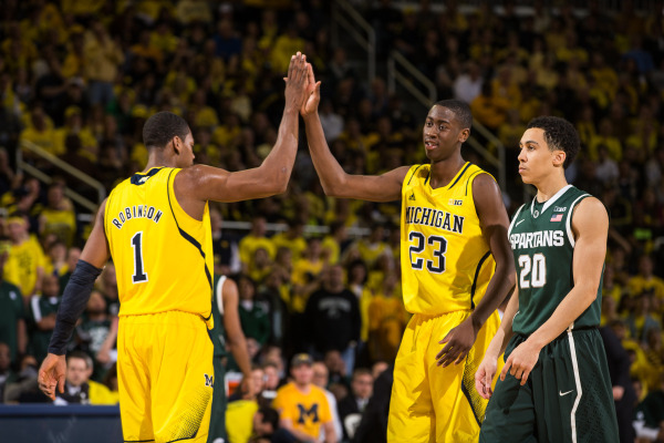 A regular season sweep of Michigan State en route to a Big Ten title highlighted a great season (MGoBlue.com)
