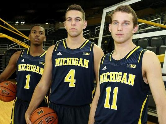 With the big three heading to the NBA Michigan will once again have a very young team next season (Detroit Free Press)