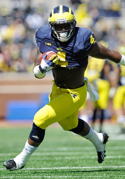 De'Veon Smith showed promise at the end of 2013, rushing for 57 yards on seven carries against Ohio State