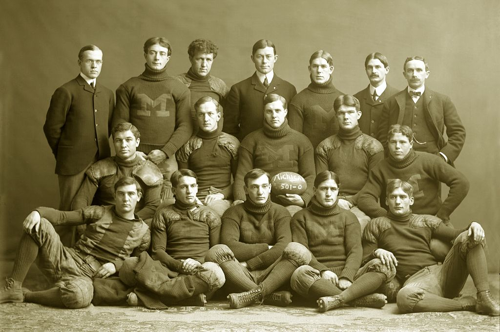 1901 Michigan team