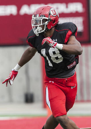 Three-year starting safety Eric Rowe has great size and speed and could play either free safety or corner this fall (Scott G. Winterton, Deseret News)