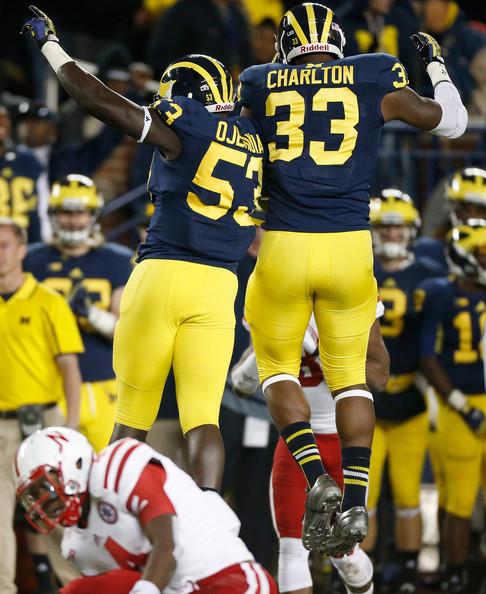 Ojemudia and Charlton give Mattison a pair of young, quick defensive ends