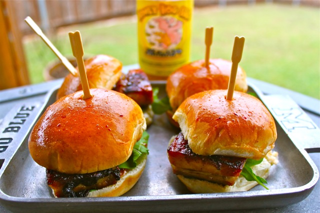 Pork Belly Sliders 1