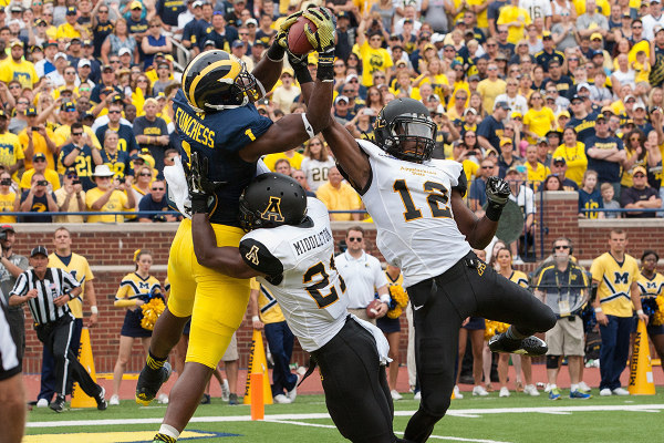 Funchess TD vs App State