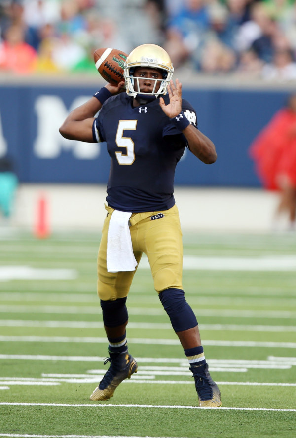 Everett Golson recorded five touchdowns in the opener (Brian Spurlock, USA Today Sports)