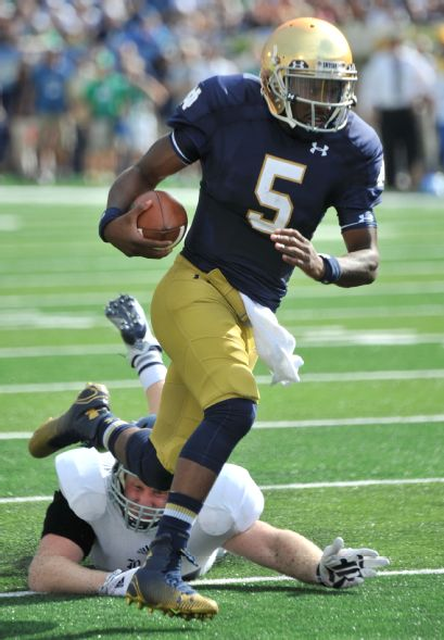 Everett Golson is much improved since Michigan last saw him in 2012 (Joe Raymond, AP)