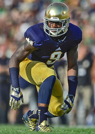 Sophomore LB Jaylon Smith is an absolute star (Robin Alam, Icon SMI)