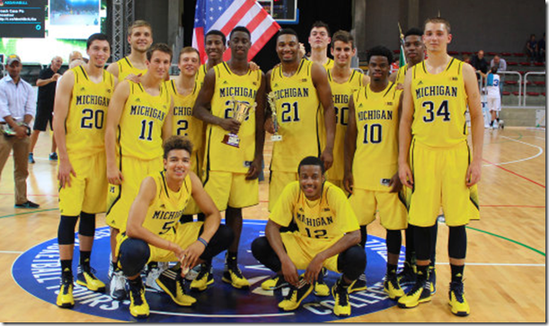 Michigan bball Italy