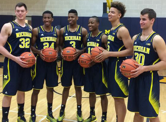 Michigan bball freshmen 2014-15