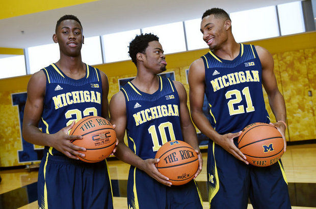 This year's Big Three has struggled with consistency and battled injuries (Melanie Maxwell, The Ann Arbor News)