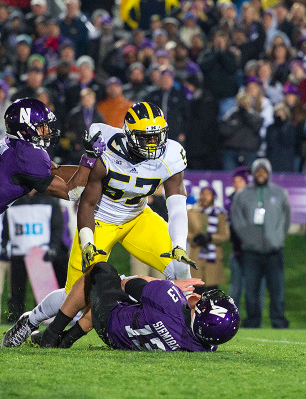Frank Clark vs Northwestern